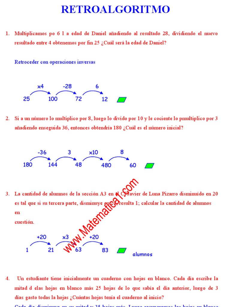 13_metodo Del Cangrejo Ejercicios Resueltos de Razonamiento ...