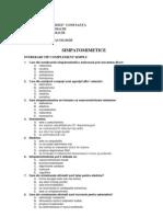 Grile Examen Farmacologie, Anul III, Sem2c - 8