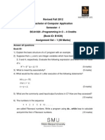 BCA1020 Fall Drive Assignment 2012