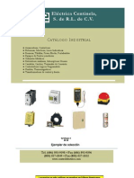 Catalogo Accesorios Electricos Indust