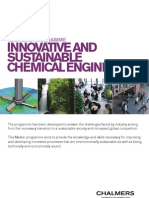 Innovative and Sustaibable Chemical Engineering