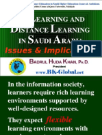 E-LEARNING AND DISTANCE LEARNING