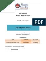 Tugasan Mini Project