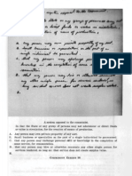 """WH16_CE_98 Notes by Oswald Entitled """"a System Opposed to the Communists"""""""