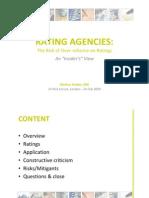 SII PIF Rating Agencies