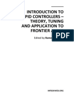 Introduction to PID Controllers - Theory Tuning and Application to Frontier Areas