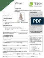 Judy Gerber Visual Literacy May 2013 Order Form