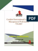 Certified International Logistics Management Professional