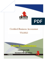 Certified Business Accountant
