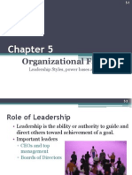 l6-Eadership and Structure