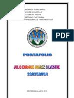 PORTAFOLIO ÉTICA Y DESARROLLO PROFESIONAL Julio E. Juárez