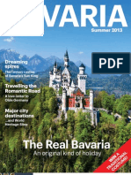Bavaria Magazine 2013 - The Real Bavaria - An original kind of holiday