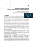 InTech-Metabolic Complications of Chronic Kidney Failure and Hemodialysis