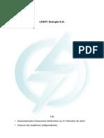 ITR 1st Quarter 2013 Light Energia *