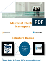 Mastersaf Interface Namespace Manual10 Apresentacao Interface Namespace