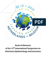 ISVEE 13 2012 Book of Abstracts