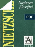 Friedrich Nietzsche-Nasterea Filosofiei-Dacia (1998)