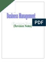 BM Short Notes (PBP)