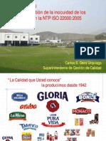 Gloria Sa Iso22000