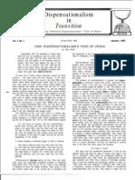 Dispensationalism in Transition