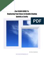 Double Glazing Manual