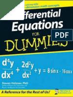 Klasifikasi Persamaan Diferensial Orde-Pertama
