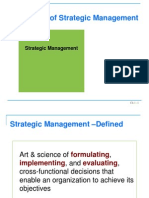 Presentation on Strategic Management by Fred R. Davids