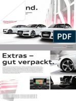 Audi A6 & A7 Extras Catalogue (Germany, 2013)