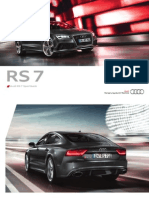 Audi RS 7 Flyer (Germany, 2013)