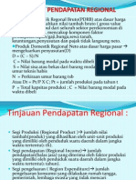 EWK PWK Pendapatan Regional
