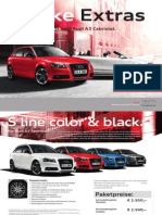 Audi A3 Extras Catalogue (Germany, 2013)