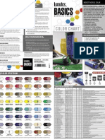 Liquitex Basics Color Chart