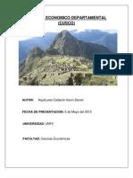 Informe Economico Departamental