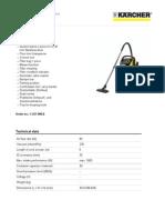 Manual Karcher Wd 5500 m PDF en 5906980