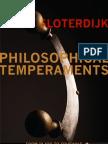"""""""Philosophical Temperaments"""
