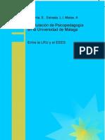 La Titulacion de Psicopedagogia en La Universidad de Malaga Entre La LRU y El EEES