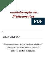 Administrao de Medicamentos