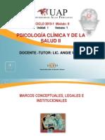Marcos Conceptuales, Legales e Institucionales.ppt SEMANA 1