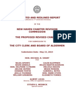 New Haven 2013 Charter Revision Proposal