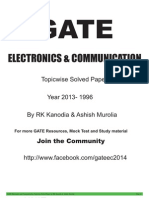 Gate Ece Previous Papers 1996-2013 by Kanodia