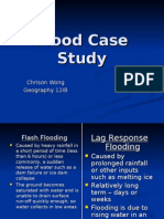 Flood Case Study - CW