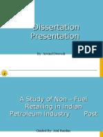 Non Fuel Retailing_Presentation_Arvind Dwivedi