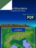 Mountain Case Study - CW