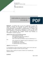 Compte rendu de la séance de Conseil Municipal du 8 avril 2013 à Louviers