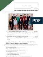 Ficha Formativa - La Famille (1) (1)