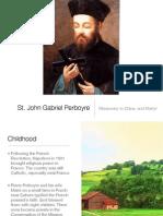 St. John Gabriel Perboyre