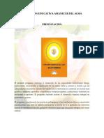 FUNDACIÓN EDUCATIVA AMANECER DEL ALMA PRESENTACION