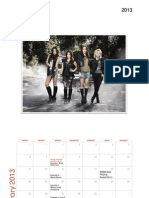 Pretty Little Liars 2013 Calendar