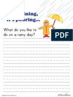 Write Rainy Days