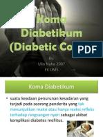 Koma Diabetikum Nuha